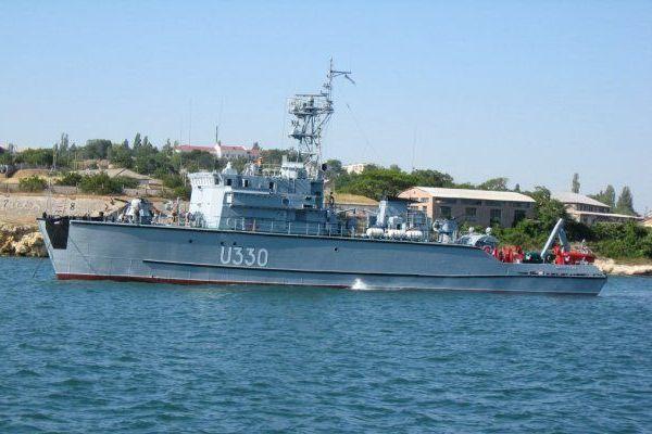 """U-330 Базовий тральщик """"Мелітополь"""""""