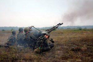 Зенітна 23 мм спарена гармата ЗУ-23-2