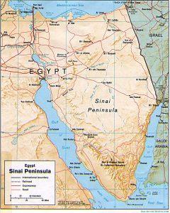 Ізраїль погодився на введення єгипетських військ в Сінай