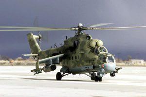 В рамках державних випробувань модернізованого ударного вертольоту Мі-24П виконано 12 польотів та понад 20 бойових застосувань
