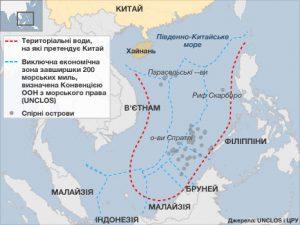 Південно-Китайське море – гаряча точка для США