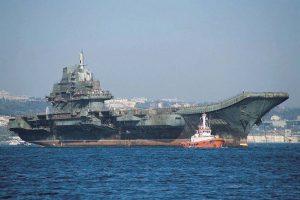 Китай пояснив, навіщо перебудовує куплений в Україні авіаносний крейсер Варяг