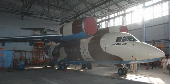 Літак Ан-74 ТК 200 побудований для іноземного замовника