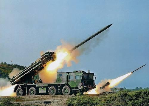 Розвідувальний боєприпас для китайської артилерії