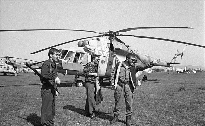 Українські вертольоти евакуйовували біженців з Кодори у 1993-му