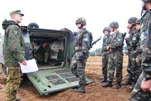 Українські військові прибули до Литви на навчання