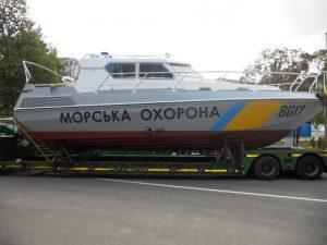 Севастопольські прикордонники отримали 2 нові катери
