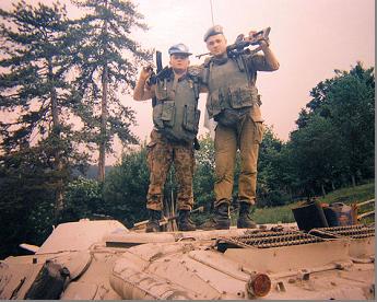 Українські миротворці 240 ОСБ (UKRBAT-1 UNPROFOR. Район мусульманського анклаву Жепа (Žepa). 1993 рік.