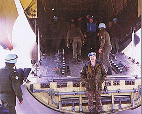 Виліт з Сараєво (Sarajevo). 1993 рік.