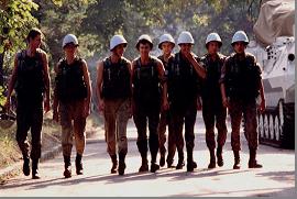 Українські миротворці у Сараєво