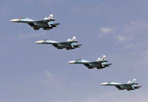 Білорусь зупинила польоти Су-27
