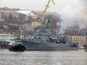 Флагман ВМСУ вийшов з доку в море