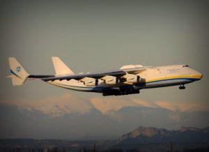 Ан-225 Мрія доставляє вантажі для операції Serval