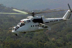 Три українські Мі-24П та 130 бійців їдуть в Кот-д'Івуар
