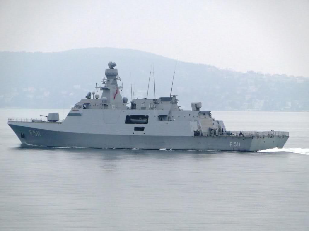 Корвет Heybeliada (F 511) проекту MILGEM ВМС Туреччини