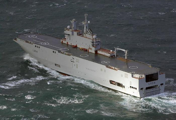 Універсальний десантний корабель типу Mistral