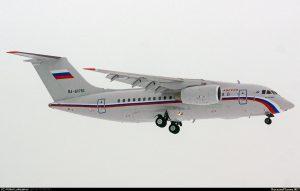 Путін отримав свій перший Ан-148