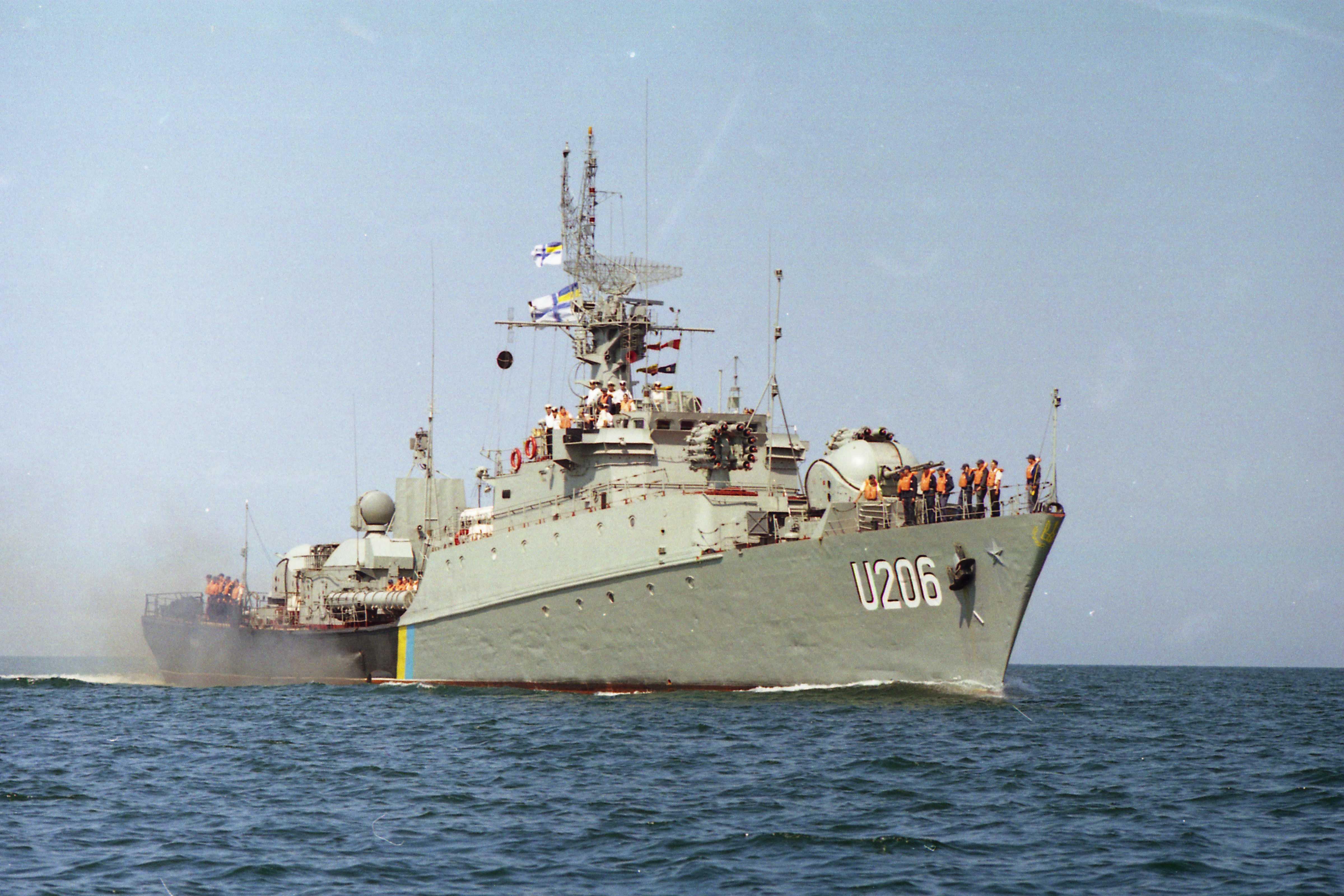 Корвет «Вінниця» під час активної служби у складі ВМС ЗС України
