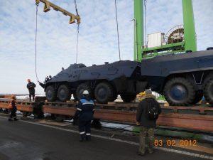Україна успішно реалізувала контракт на поставку БТР-3Е до Нігерії