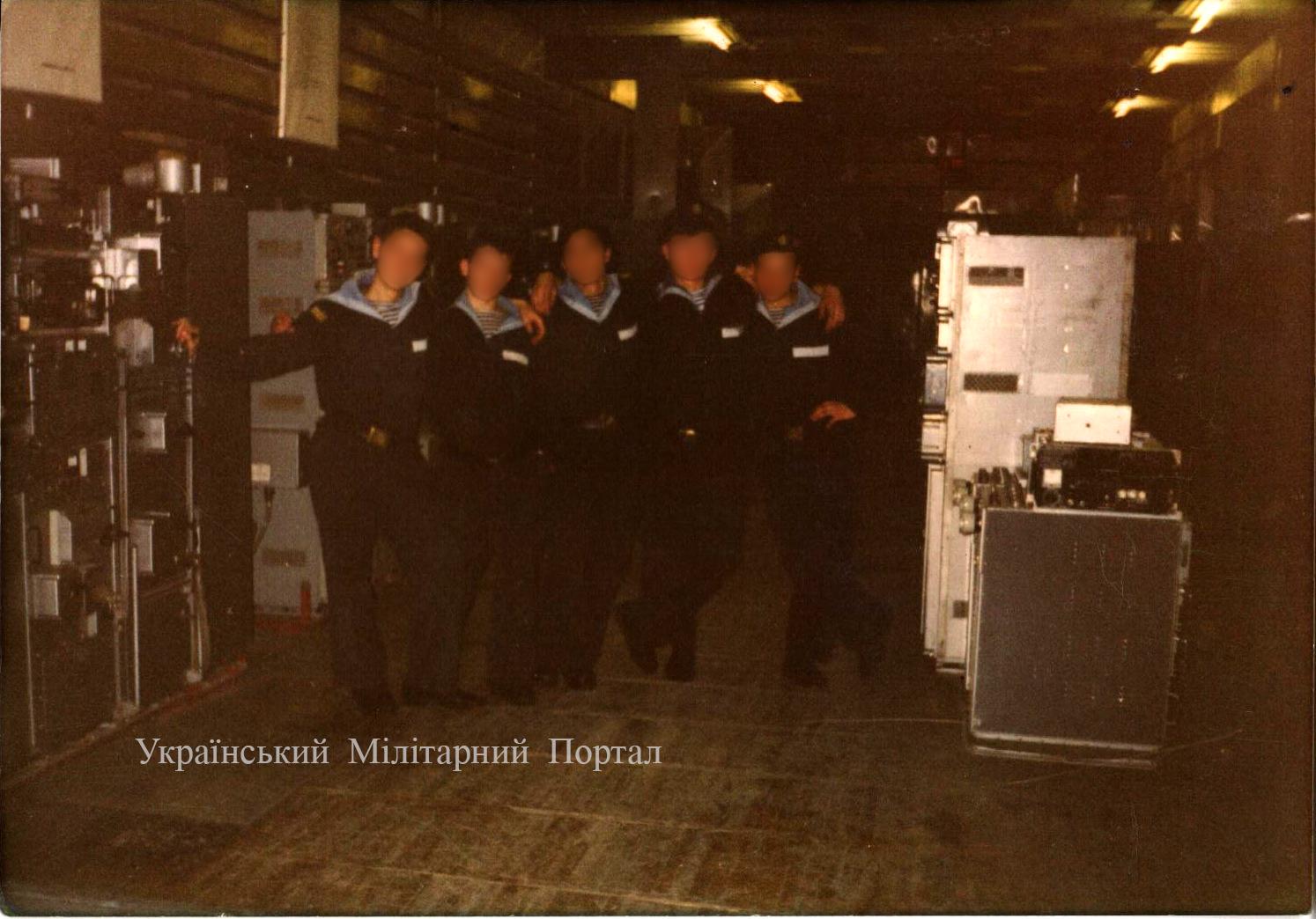Зал с передатчиками (Р-652 Щука)
