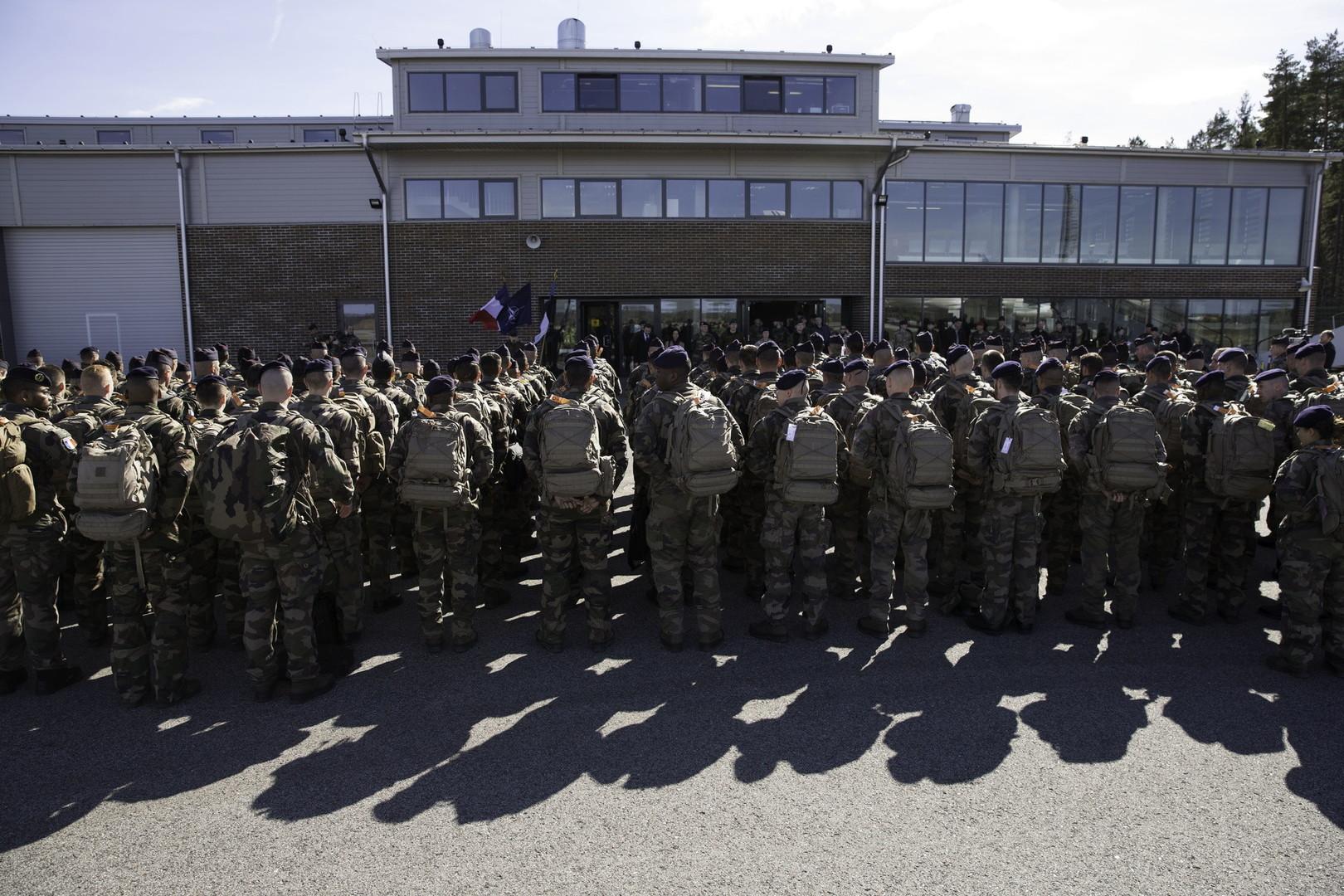 Прибуття французьких військових до Естонії у 2017 році