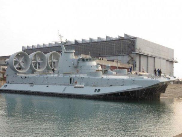Китай побудував перший малий десантний корабель на повітряній подушці спільного з Україною проекту 958 «Бізон».