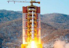 КНДР цими вихідними провело невдалий запуск ракети.