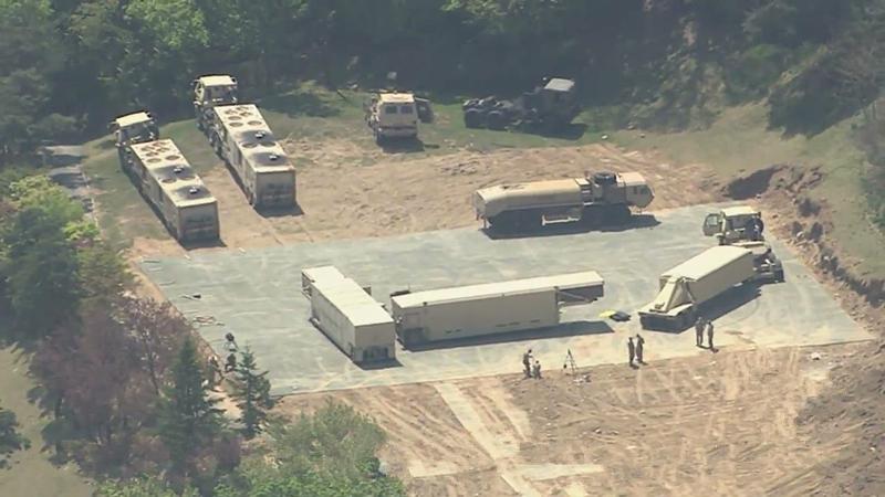 З'явились фотознімки системи протиракетної оборони США, що розгортають на Корейському півострові.