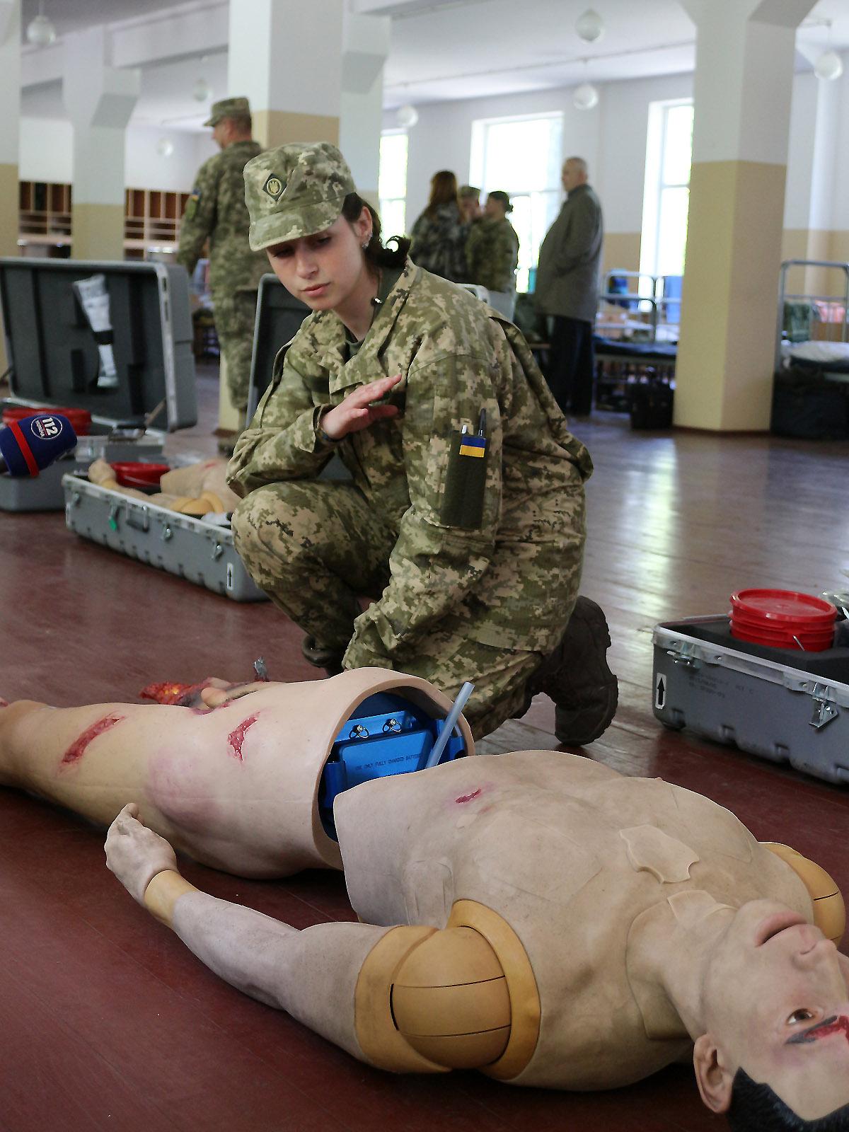 В Збройних Силах створено 205-й Навчальний центр тактичної медицини Збройних Сил України
