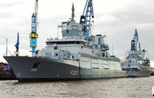 Нові фотографії фрегатів класу F 125 ВМС Німеччини