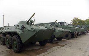 Модернізований БТР-70 з двигуном General Motors