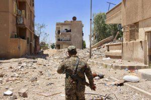Сирія, ситуація у місті Ракка та її околицях станом на 27 червня