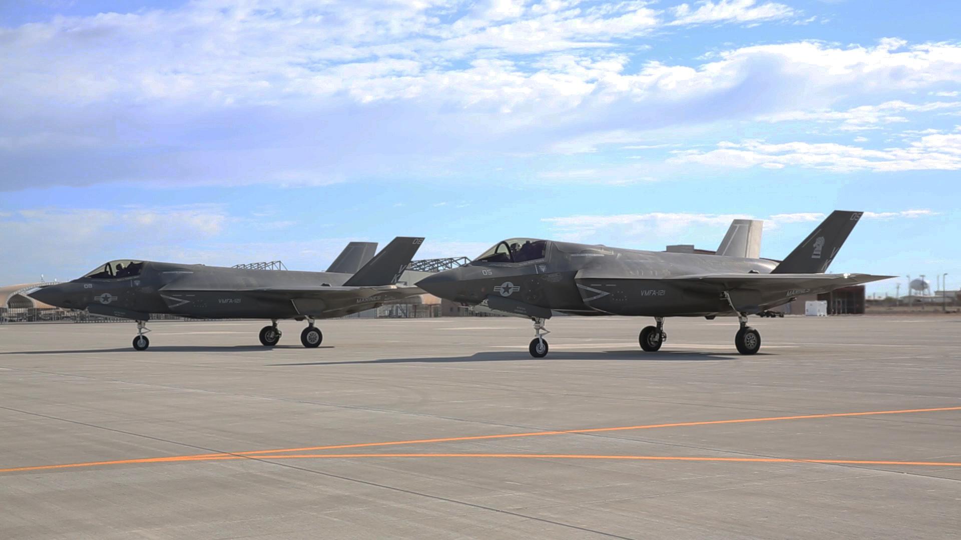 Багатоцільові літаки F-35