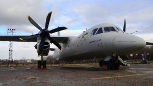 Ан-132 летить на Ле Бурже
