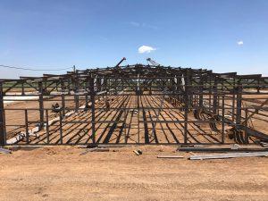 Стан будівництва стаціонарного табору на полігоні Широкий лан станом на 6 липня