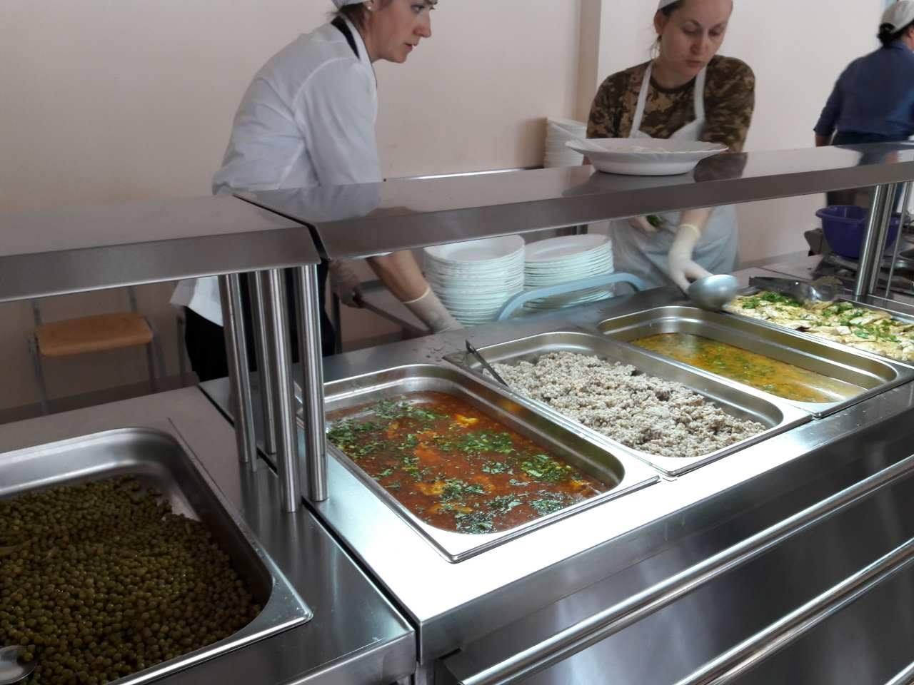 Навчальний центр ССО планово перейшов на нову систему харчування ЗСУ