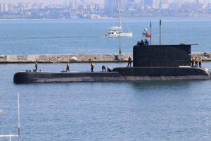 Sea Breeze 2017: До порту Одеси вперше за останні десять років зайшов підводний човен
