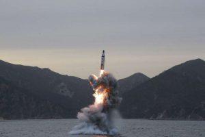 КНДР продовжує роботу над занурювальним стендом, що використовується для тестування пусків ракет