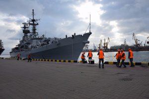 Есмінець ВМС Італї прибув з дружнім візитом до Одеси