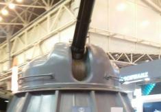 """Завод """"Кузня на Рибальському"""" представила на """"Зброя та безпека – 2017"""" шестиствольну 30-мм зенітну артустановку"""