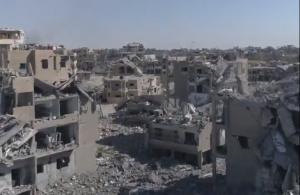 Сирія: кадри зняті з наслідками боїв за місто Ракка