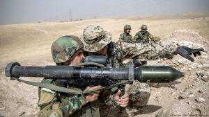 Бундесвер призупиняє вишкіл загонів іракських курдів