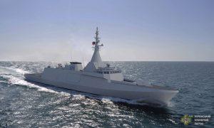 Стан будівництва другого єгипетського корвету класу Gowind