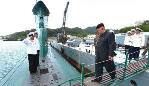КНДР будує підводний човен який матиме найбільшу водотоннажність в історії суднобудування країни