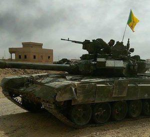 У Хізбалли помічені танки Т-90 російського виробництва