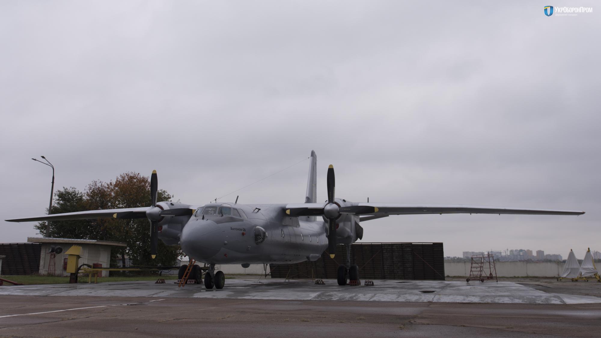 Черговий Ан-26 після капітального ремонту готовий до передачі Повітряним Силам України