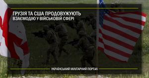 США та Грузія продовжують взаємодію в оборонній сфері
