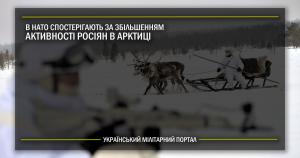 В НАТО спостерігають за збільшенням активності росіян в Арктиці