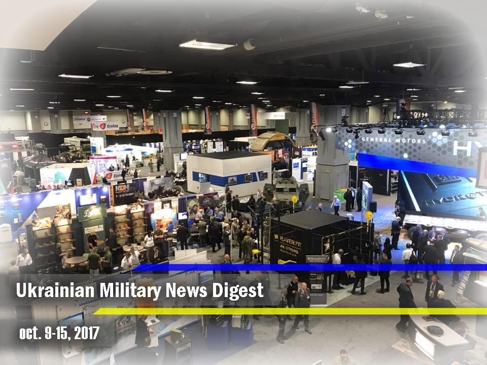 Ukrainian Military News Digest for oct. 9-15, 2017