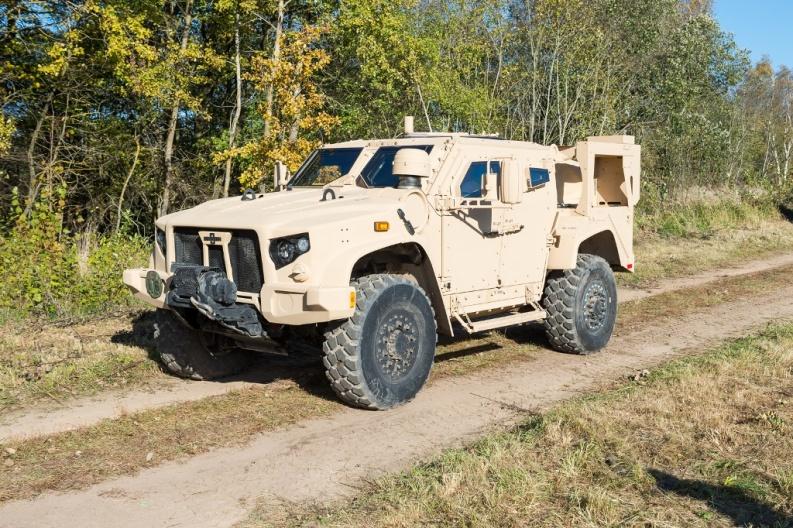 L-ATV на випробуваннях у Литві